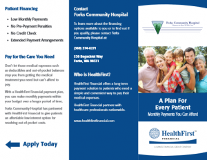 Health First Financial Application